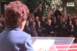Fosse Ardeatine, l'omaggio di Mattarella