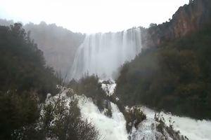Ulassai, le cascate sono uno spettacolo