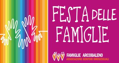 A Salerno la Festa delle Famiglie Arcobaleno