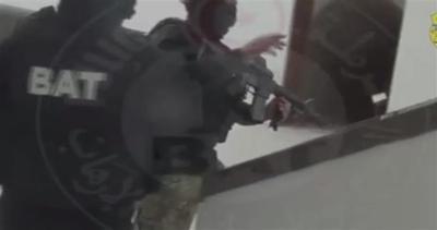 Dentro al museo Bardo: il video delle forze speciali