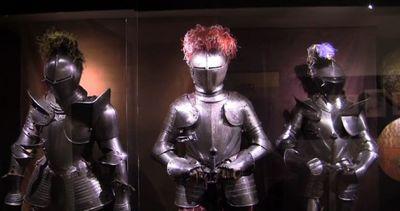 Firenze, anche le armature militari seguivano la moda