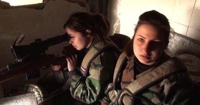 Le tiratrici scelte di Assad in prima linea contro gli ...