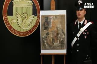 Carabinieri 'salvano' un Picasso da 15 milioni