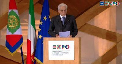 Expo, Mattarella: Italia non sfugga l'innovazione, è ...
