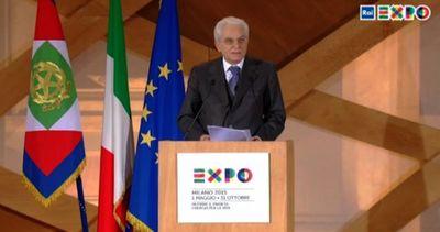 Mattarella: tutta Italia guarda a Expo 2015, non deludere ...