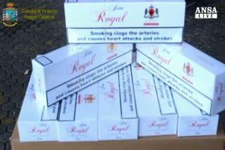 Sequestrate 52 tonnellate sigarette in porto Gioia Tauro    ...
