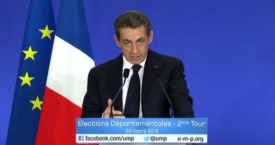 Voto in Francia: trionfa Sarkozy, frena Le Pen, Hollande ...