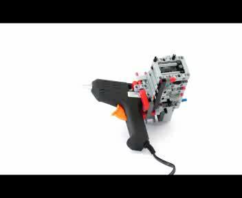 La pistola di Lego che stampa in 3D