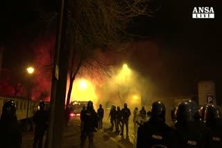 Incidenti a corteo Cremona, due arresti