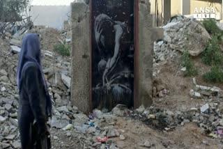 A Gaza venduta opera di Banksy, e' polemica
