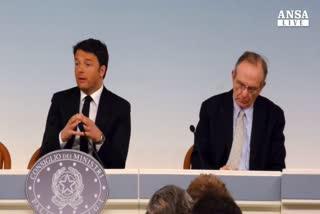 Renzi presenta Def: ne