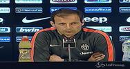 Allegri: Con la Lazio è sfida scudetto