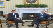 Usa, Obama incontra Renzi e saluta i giornalisti in ...