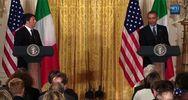 Obama scherza: Matteo, esaminerò il tuo vino toscano