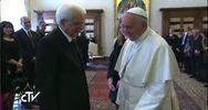 Mattarella va da Papa Francesco: lavoro e immigrazione tra ...