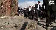 Renzi a Pompei: cultura e' anima del Paese
