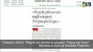 """Trasporti, Delrio: """"Regole più severe su ..."""