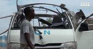 Somalia: bomba su bus dipendenti Onu, 10 morti