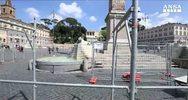 Fontana dei Leoni, partono i restauri a costo zero