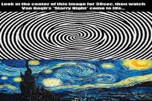 Come far prendere vita ad un quadro di Vincent Van Gogh