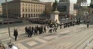25 aprile: Mattarella depone corona alloro ad Altare Patria ...
