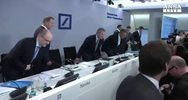 Deutsche Bank: pesano maxi multe, giu' utile trimestre
