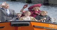 Grande festa a Dordrecht per il Giorno del re: il sovrano ...