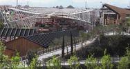 Il sito di Expo visto dall'alto a tre giorni ...