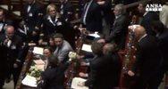 Da M5S insulti a Boldrini in aula
