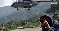 """Nepal, oltre 7mila morti, """"non ci sono piu' superstiti"""