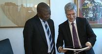Delegazione del Mpumalanga in Puglia:  il premier  David ...