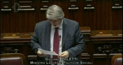 Pensioni, Poletti: agiremo presto, per ora no decisione Governo