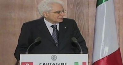 Mattarella: solleciteremo Ue a collaborazione con Tunisia