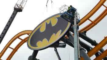 In Texas l'ottovolante da 'brividi' dedicato a Batman