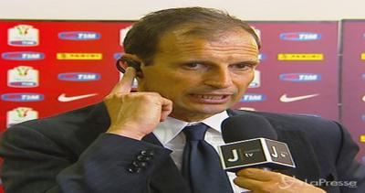 Allegri: Coppa Italia una grande soddisfazione