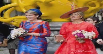 Maxima d'Olanda e Matilde del Belgio osano nello stile: ...
