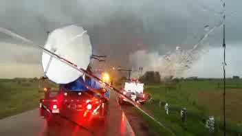 Cacciatori di tornado nel Colorado