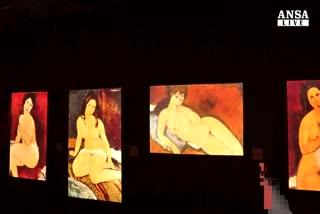 Les femmes' di Modigliani rivivono a Napoli