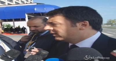 Sbarchi, Renzi: Coscienza Europa non è a 380 metri di ...