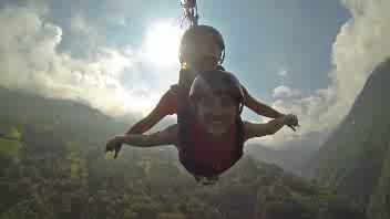 In Valtellina si puo 'volare'