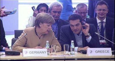 """Ue, Merkel sul debito greco: """"C'è ancora molto lavoro da ..."""