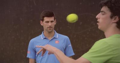 Djokovic non può crederci: il vero fenomeno del tennis     ...