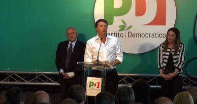 Renzi: Italia è uscita dalla recessione, il Sud no