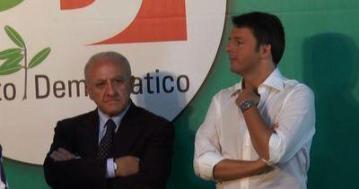 Renzi a Salerno: tutti a lavoro per vincere in Campania     ...