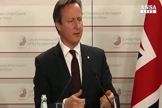 Cameron lancia campagna, riforma Ue prima di referendum     ...