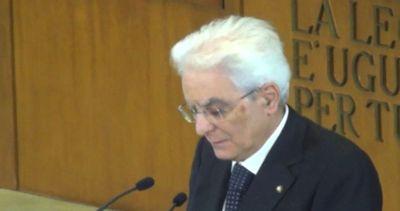 Mattarella: da questione meridionale dipende futuro Italia ...
