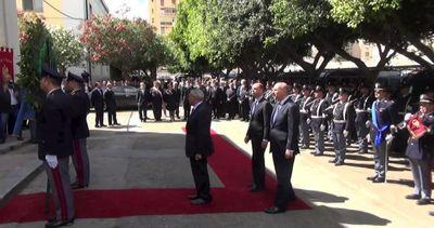 Grasso e Alfano ricordano agenti uccisi nella strage di ...