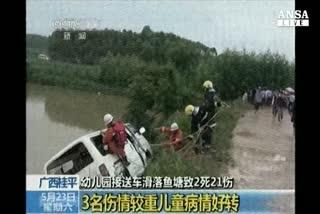 Inondazioni in Cina, almeno 57 morti