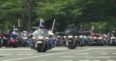 A Washington l'invasione dei motociclisti per la ...