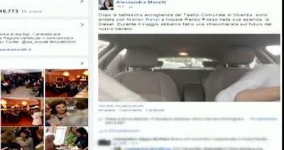Renzi autista di Alessandra Moretti: durante il viaggio si ...